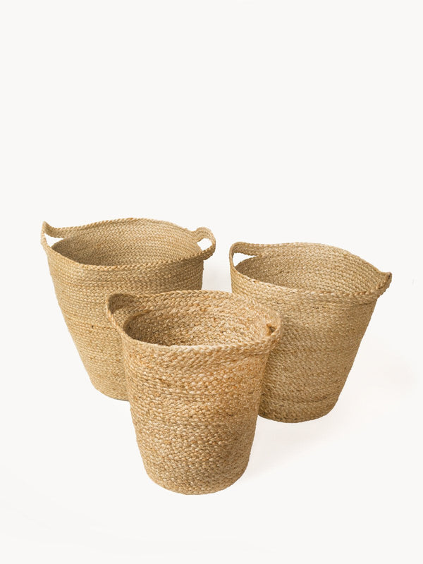 Kata Basket with Slit Handle KORISSA - ourCommonplace