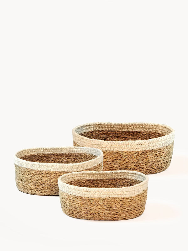Savar Oval Bowl (Set of 3) KORISSA - ourCommonplace