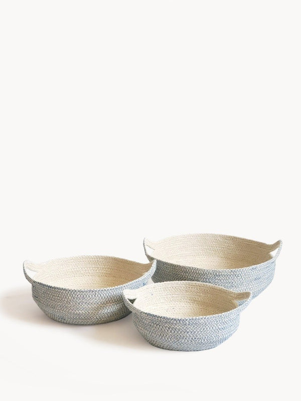 Amari Fruit Bowl - Blue KORISSA - ourCommonplace