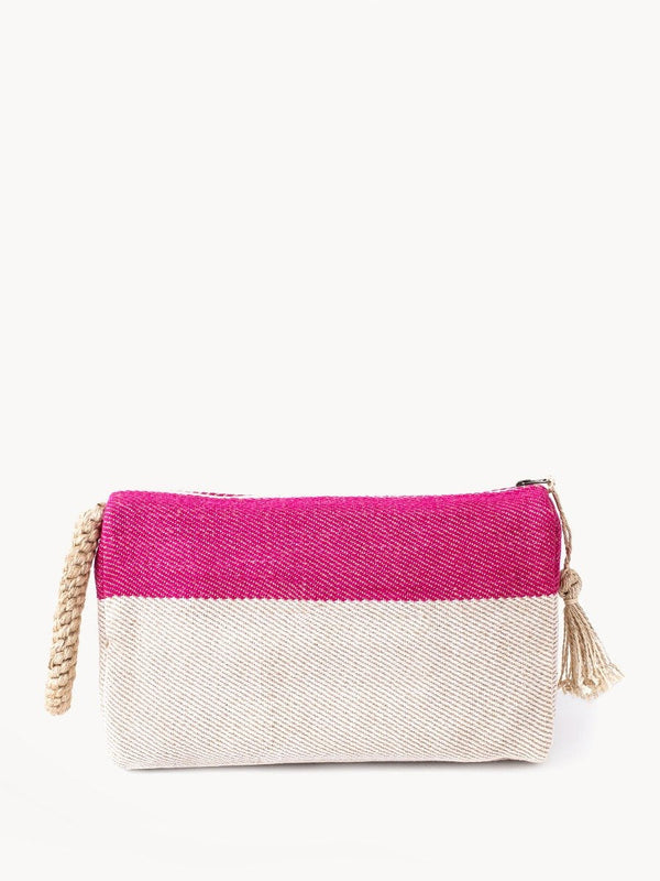 Block A Clutch - Pink KORISSA - ourCommonplace