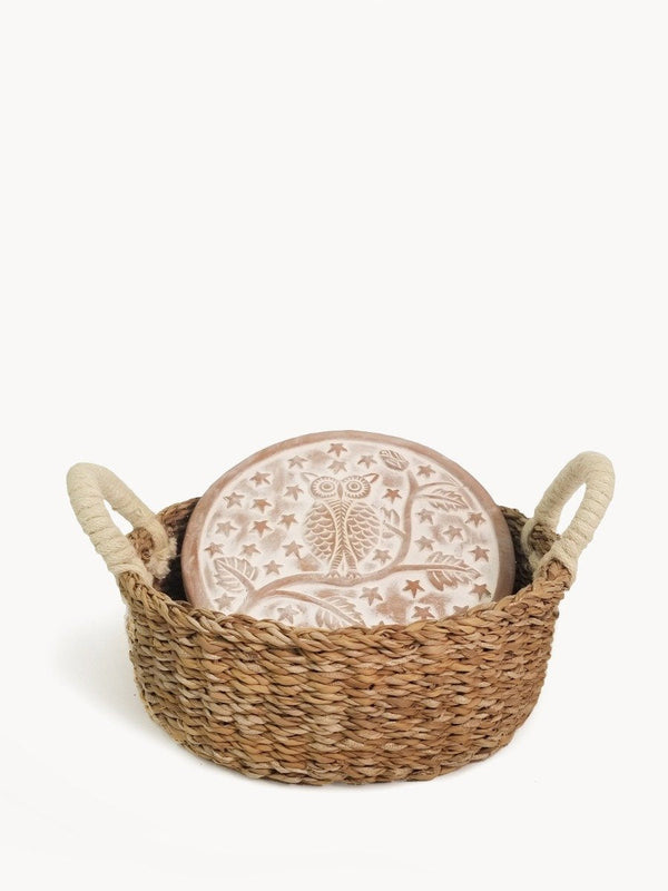 Bread Warmer & Basket - Owl Round - ourCommonplace