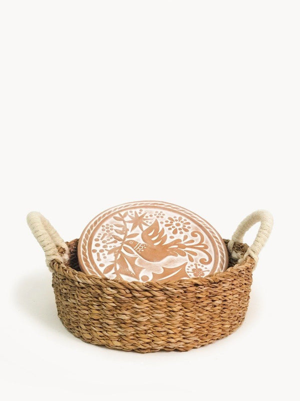 Bread Warmer & Basket - Bird Round - ourCommonplace