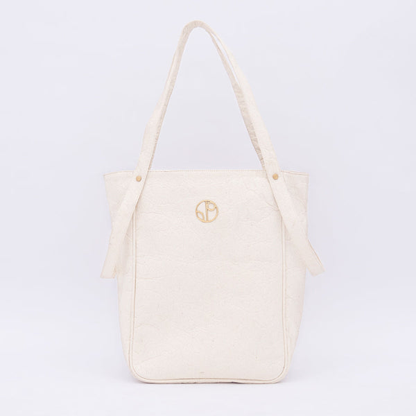 TOKYO NRT Piñatex® Tote Bag - Latte 1 People - ourCommonplace