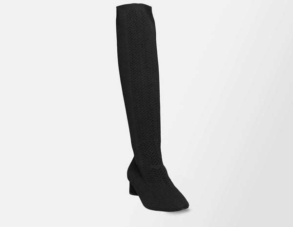 Knee-High Mesh Boots - ourCommonplace