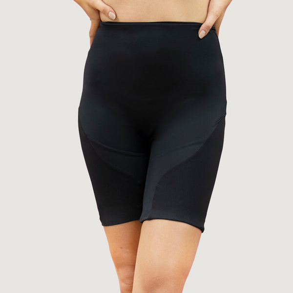 Portland PDX - Biker Shorts - Onyx 1 People - ourCommonplace