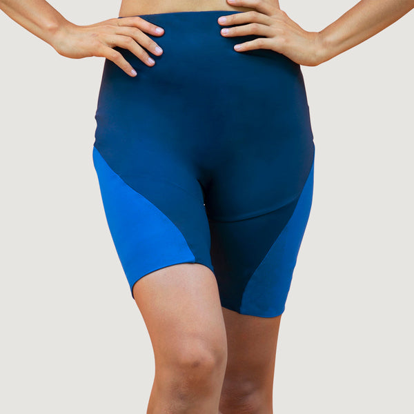 Portland PDX - Biker Shorts - Sapphire - ourCommonplace