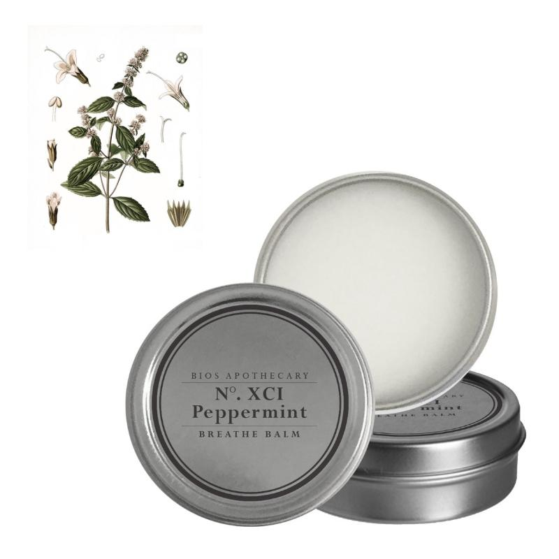 Peppermint Breathe Balm Bios Apothecary - ourCommonplace