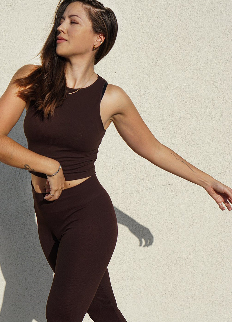 Athena Top in Chocolate - ourCommonplace