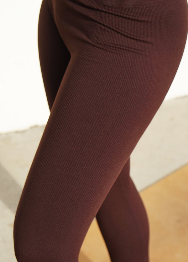 Athena Leggings in Chocolate - ourCommonplace