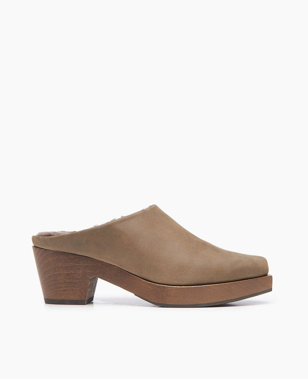 Kera Shearling Clog Coclico - ourCommonplace
