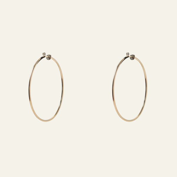 Antē Hoop Earrings Costante - ourCommonplace