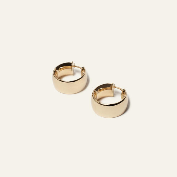 Sade Gold Hoops - ourCommonplace