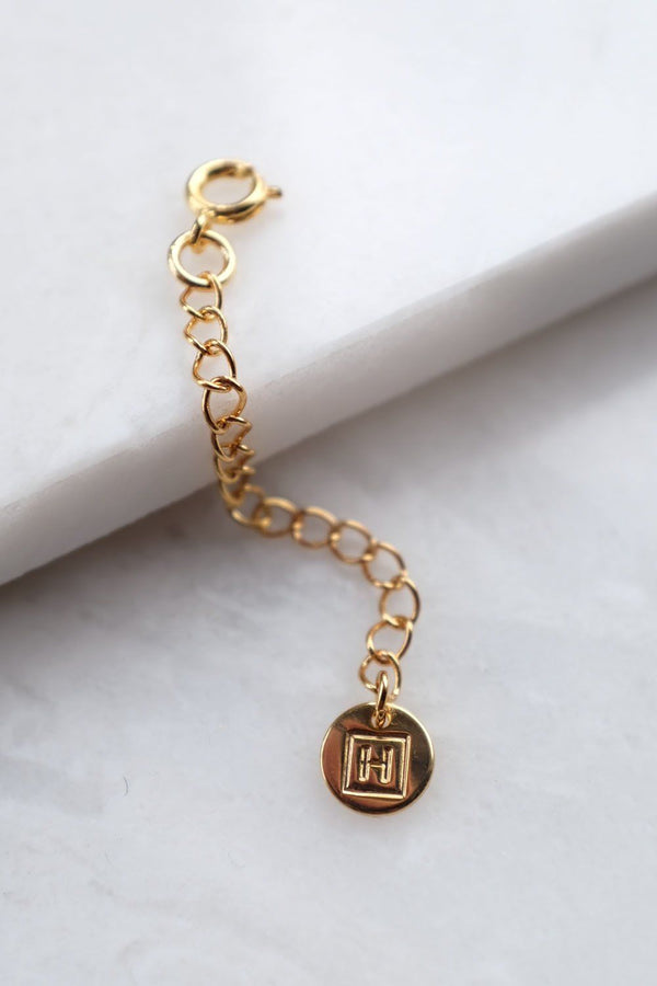 Vao 16K Gold-Plated Brass Extension Chain for Bracelets and Necklaces - ourCommonplace