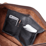 The Gabriel Leather Messenger Bag Brave Soles - ourCommonplace