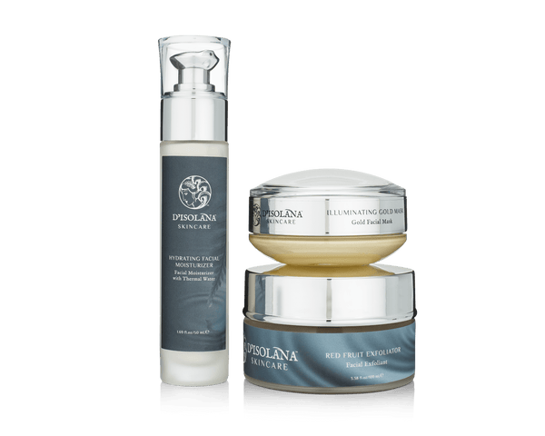 Glowing Skin Set D'Isolana - ourCommonplace