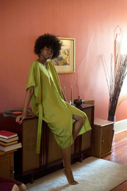 Washed Silk Nightgown Damiano Collection - ourCommonplace
