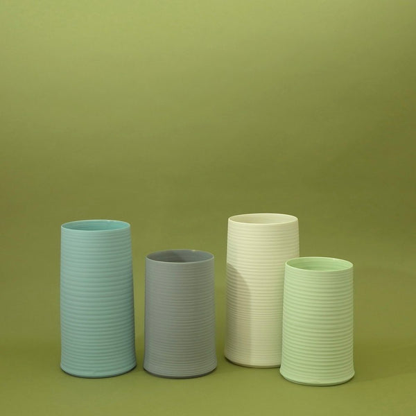 COLD MOUNTAIN VASE MINT GREEN Middle Kingdom Porcelain - ourCommonplace