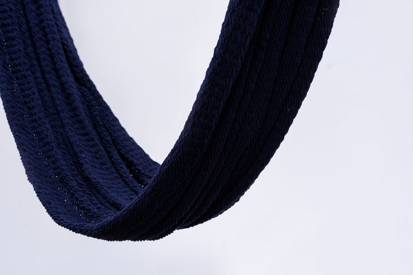 Navy Blue Cotton Hammock - ourCommonplace