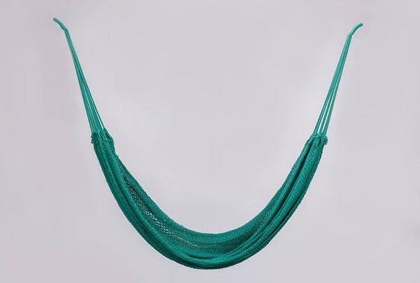 Teal Green Cotton Hammock - ourCommonplace