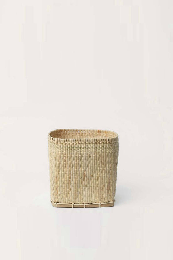 "Neepa Hut Bidayuh Handwoven Small 6"" Planter Basket Hathorway - ourCommonplace"