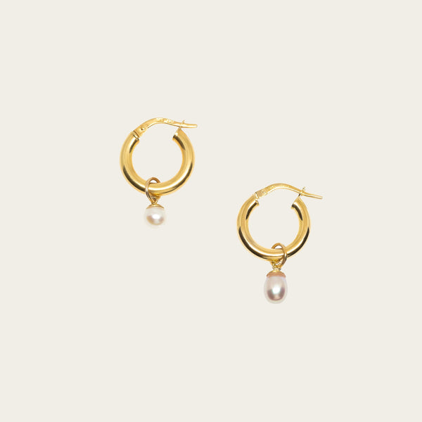 Perla Hoop Earrings - ourCommonplace