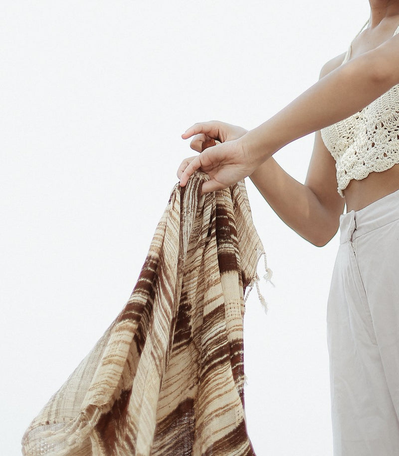 Salam Handwoven Cotton Scarf - ourCommonplace