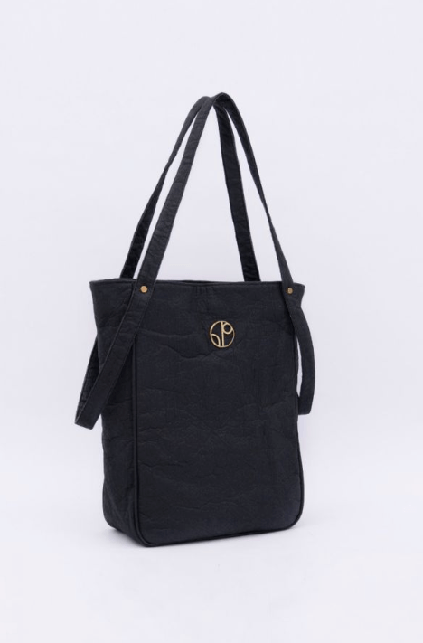 TOKYO NRT Piñatex® Tote Bag - Truffle 1 People - ourCommonplace