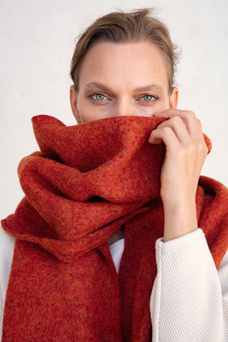 Carnelian Wrap Taiyo Clothing - ourCommonplace