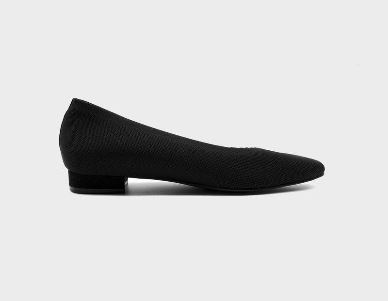 Black Ballet Flats Seven All Around - ourCommonplace