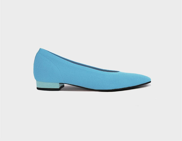 Sky Blue Ballet Flats - ourCommonplace