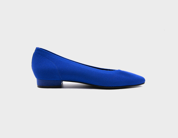 Deep Blue Ballet Flats - ourCommonplace