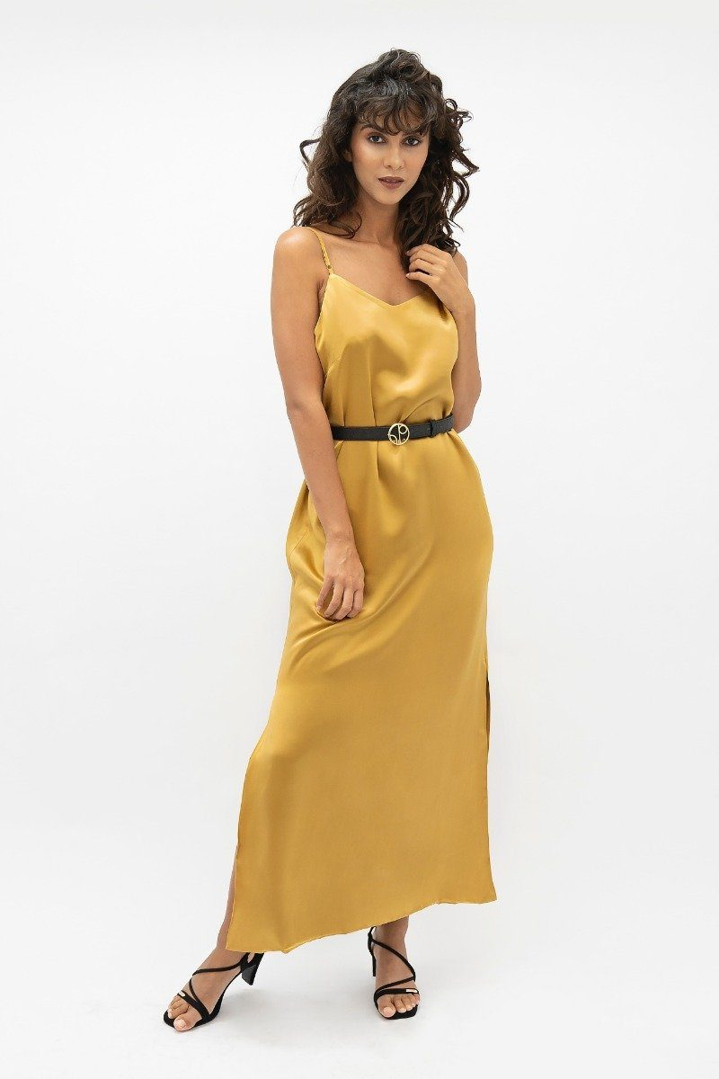 Calabar CBQ - Slip Dress - Mimosa - ourCommonplace