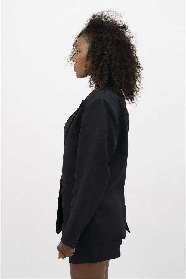 Havana HAV - Oversized Blazer - Licorice - ourCommonplace
