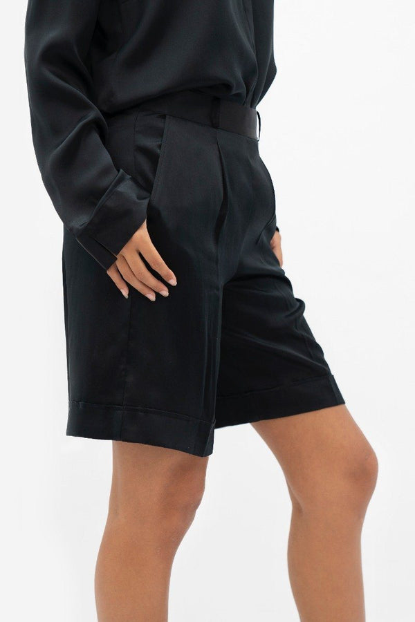 Manila MNL - Tailored Shorts - Little Black Dress - ourCommonplace