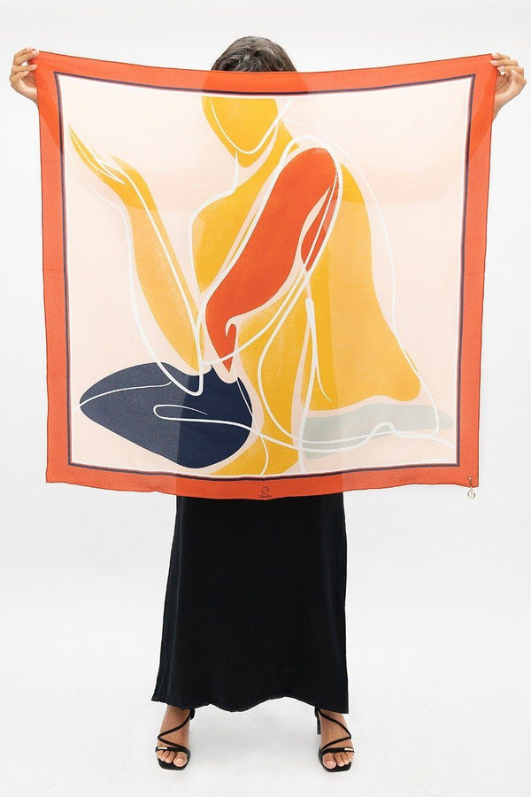 Maya Angelou - Le Carré Scarf 1 People - ourCommonplace