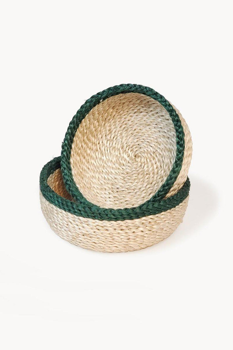 Phala Handwoven Jute Basket (Set of 2) - ourCommonplace