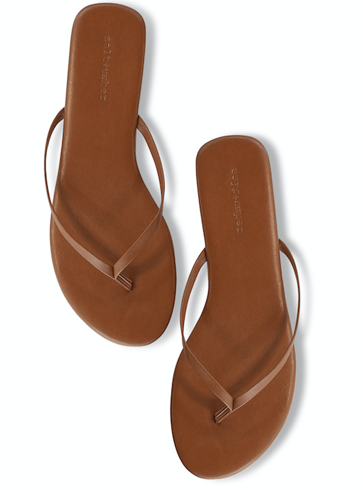 Bombay Sandal in Tan Brown Salt + Umber - ourCommonplace