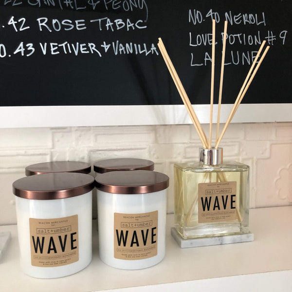 Beacon Mercantile x Salt + Umber Wave Candle