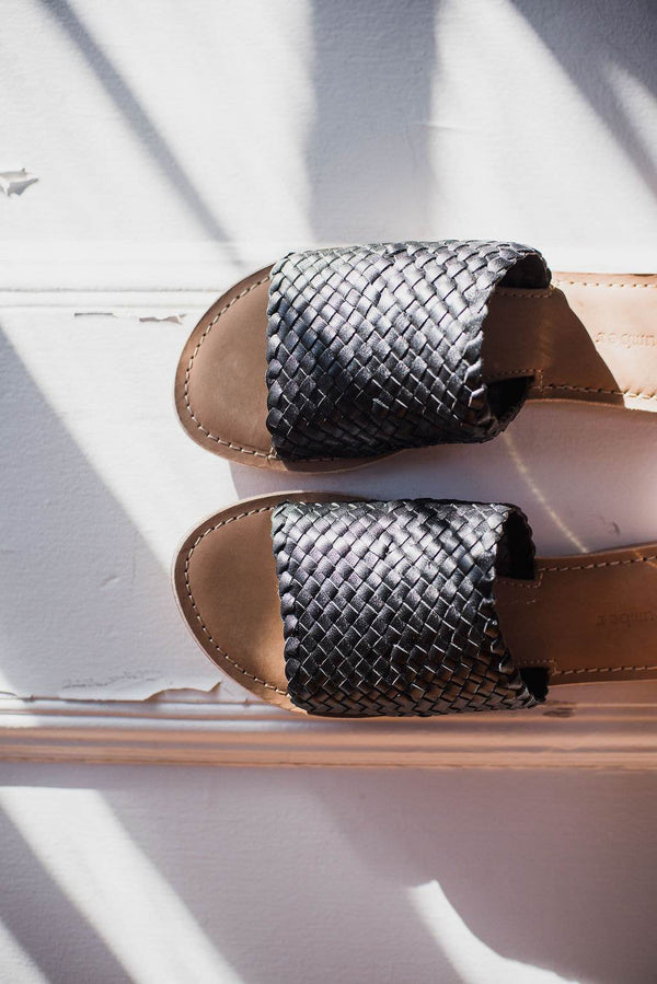 Demi Handwoven Slide