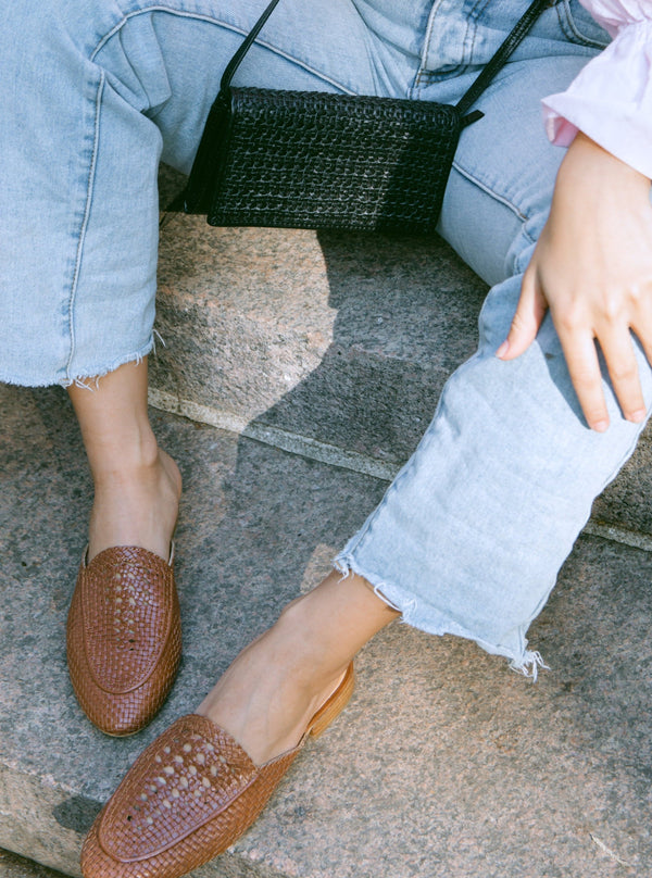 Positano Loafer in  Tan Salt + Umber - ourCommonplace