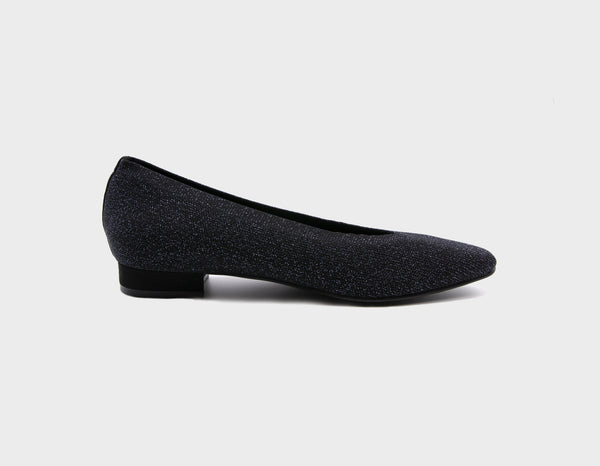 Black Sparkle Ballet Flats - ourCommonplace