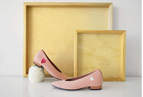 Heart Ballet Flat - ourCommonplace