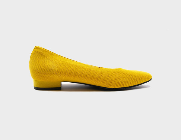 Deep Yellow Ballet Flats - ourCommonplace