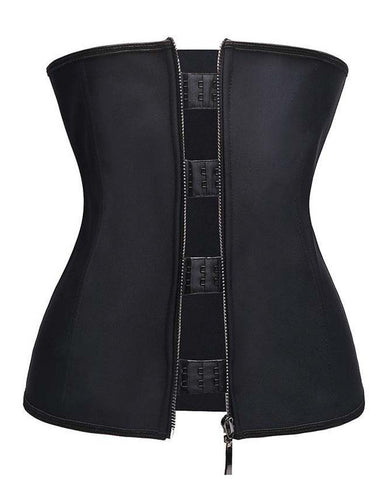 Premium Latex Zipper Waist Trainer