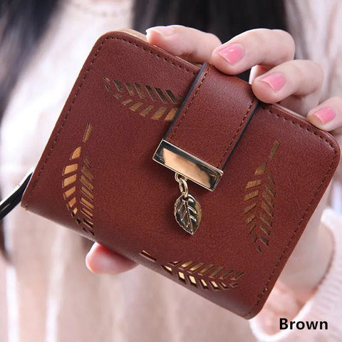 Cute Leaf Wallet