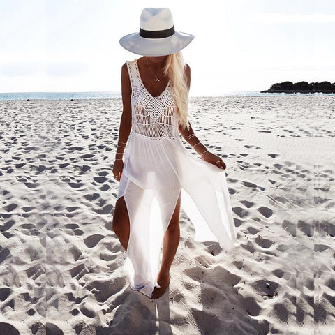 Long Style Beach Cover Ups