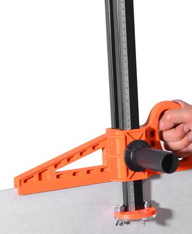 Use of Easy Ripper™ Drywall Cutter on different heights