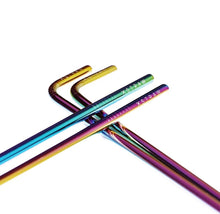 Load image into Gallery viewer, 25% Off The Unicorn - Stainless Steel Straws 4 Pack $14.21 Straw