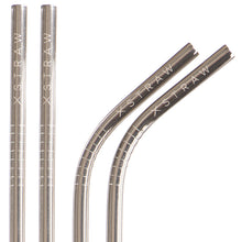 Load image into Gallery viewer, Classic Silver - Steel Straws 4 Pack<br>$24.95