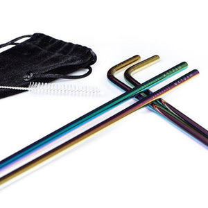 The Unicorn - Steel Straws 4 Pack $18.95 Straw